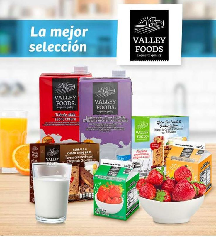 Oferta de Leche Valley Foods por
