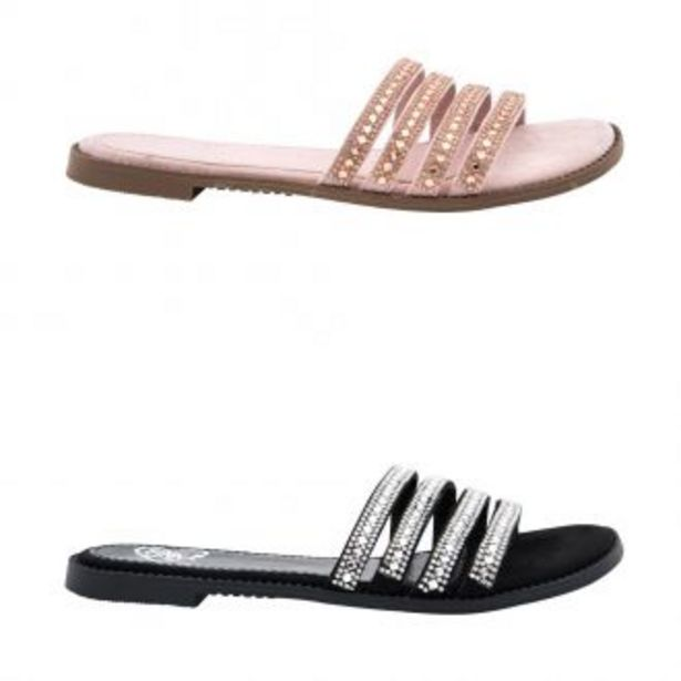 Oferta de KIT DE SANDALIA CASUAL PINK BY PRICE SHOES 9722 por $389