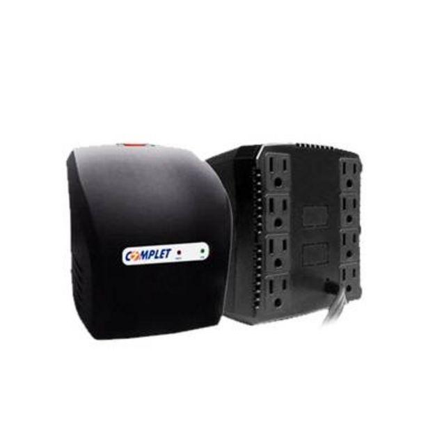 Oferta de Regulador De Voltaje Complet R Plus 1300va 650w 8 Contactos por $700