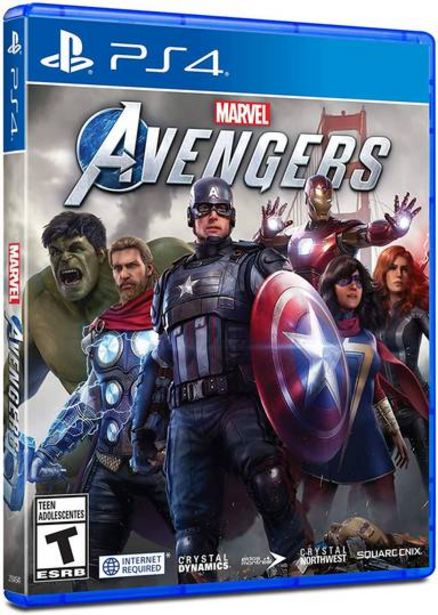 Oferta de Marvel's Avengers (PlayStation 4) por $1200