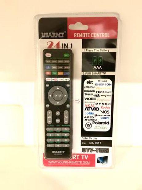 Oferta de CONTROL REMOTO TV PANTALLA EKT UTV-T1115-6791 Y OTRAS VARIAS MARCAS por $139