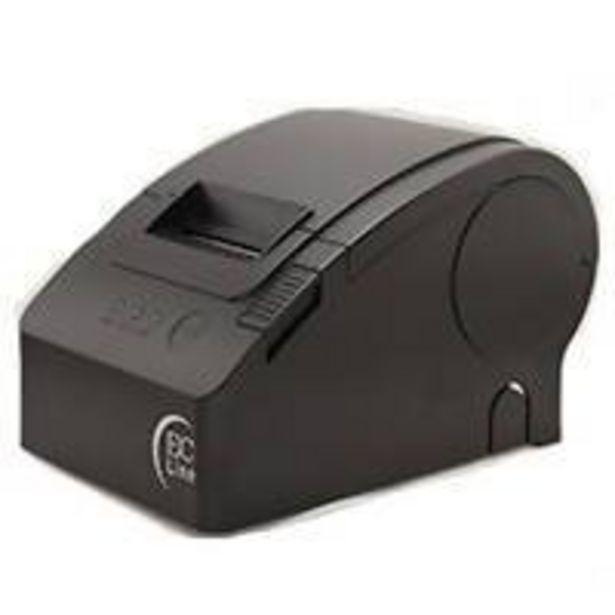 Oferta de Miniprinter Termica Ec Line EC-PM-58110-USB USB negra 58MM por $1490