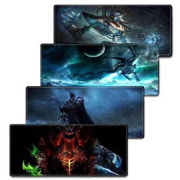 Oferta de Mousepad nuevo con diseño World of Warcraft tamaño 400x900x2mm por $490