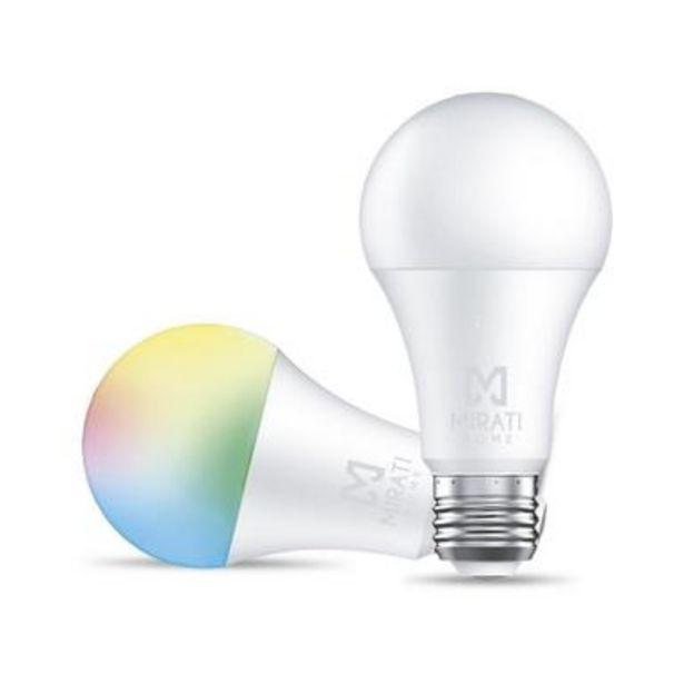 Oferta de Foco Inteligente Mfc1 - Smart Home, Wi-fi, Luz RGB por $490