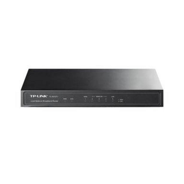 Oferta de Router Balanceador Tp-link Tl-r470t+ Firewall 4 Puertos Rj45 por $1119