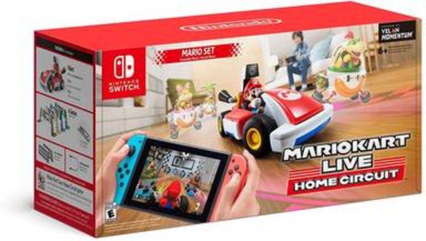Oferta de Mario Kart Live Home Circuit (versión Mario) para Nintendo Switch por $4890
