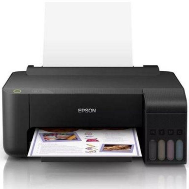 Oferta de Impresora Epson L1110, ppm 33 n/15 c tinta continua USB por $4470