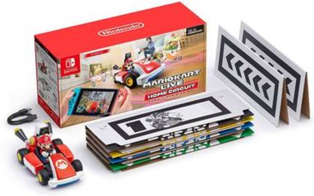 Oferta de Mario Kart Live Home Circuit (Mario) edición japonesa para Nintendo Switch por $3990
