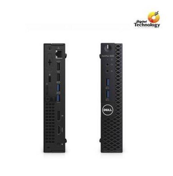 Oferta de PC OPTIPLEX 3050 MICRO INTEL CORE I5 4GB 500 GB W10P por $10690
