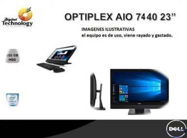 """Oferta de EQUIPO DE USO OPTIPLEX 7440 INTEL CORE I5-6500 8 GB 500 W10P 23.8"""" por $9956"""