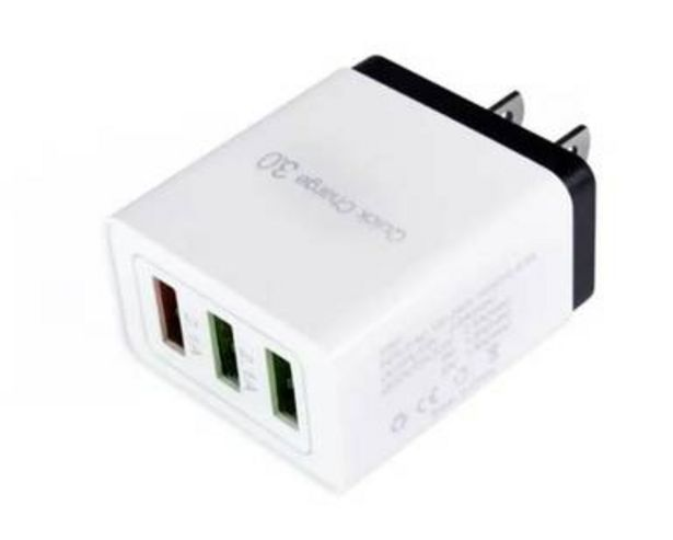 Oferta de CUBO CARGA RÁPIDA 3 USB. 2.1 FCH 06 QUICK CHARGE.3 por $99