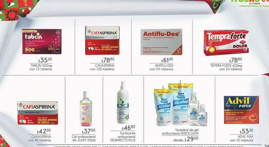 Oferta de Medicamentos Tabcin por