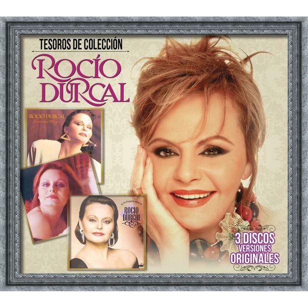 Oferta de 3Cd Rocío Dúrcal-Tesoros De Colección: Como Tu Mujer / Canta Con Mariachi, Vol. 4 / Si Te Pudiera Mentir (Tres Discos Versiones Originales) por $99