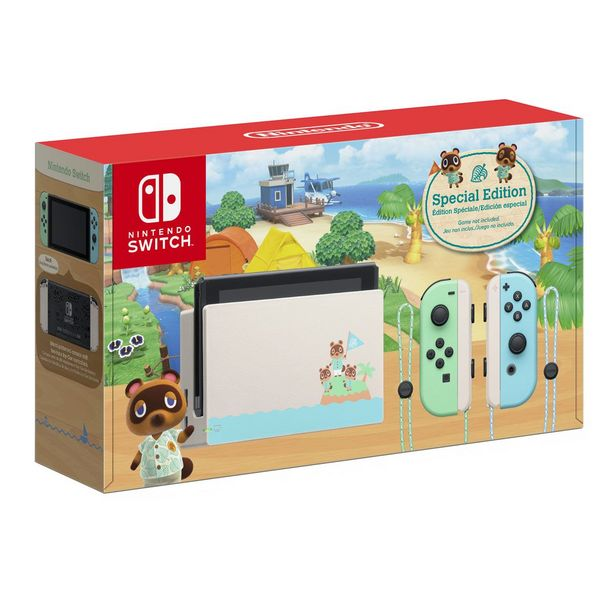Oferta de Consola Nintendo Switch Edición Animal Crossing por $8549