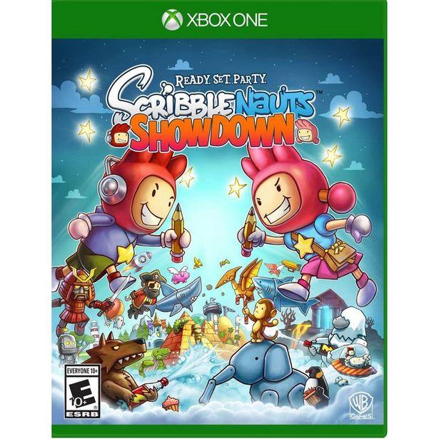 Oferta de Xbox One Scribblenauts Showdown por $349