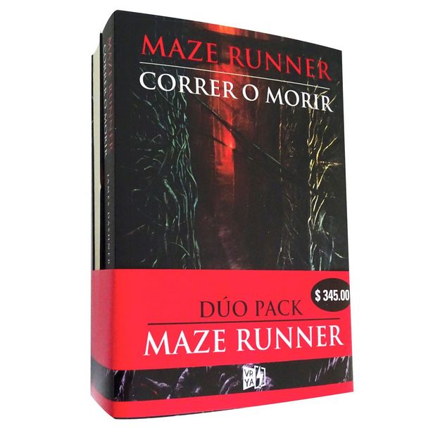 Oferta de Paquete Maza Runner  Autor : James Dashner por $258