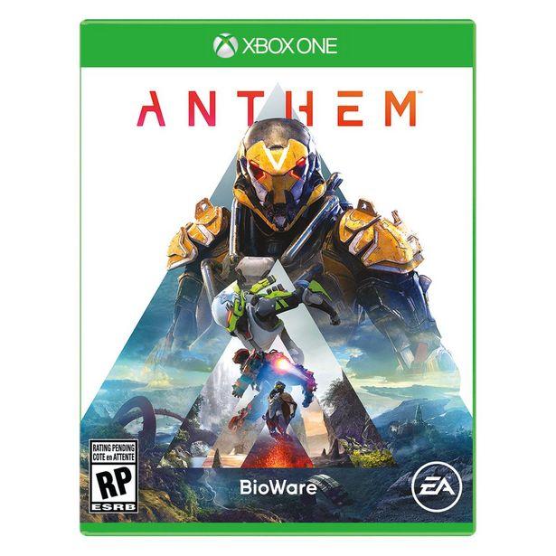 Oferta de Xbox One Anthem por $224