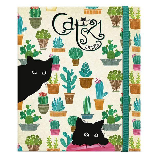 Oferta de Agenda Cats Modelo 04110 2021 por $384