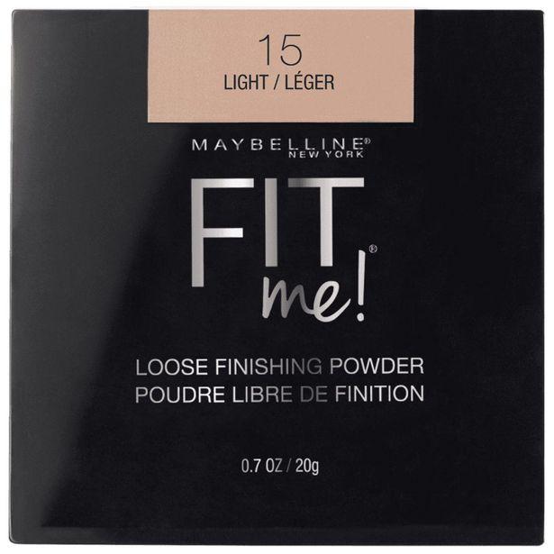 Oferta de Polvo De Maquillaje Fit Me! Loose Powder De Maybelline, Tono Light por $144