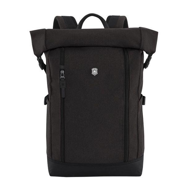 Oferta de Backpack Negro Negro  Classic, Rolltop Laptop Backpack, Black por $2455