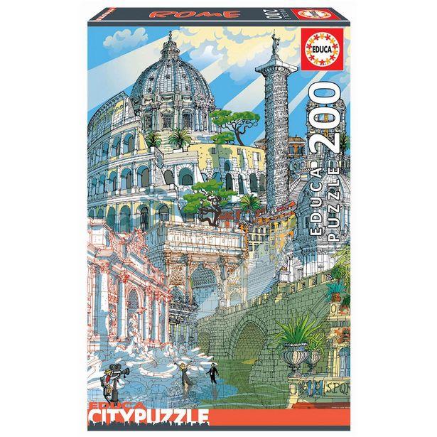 Oferta de Rompecabezas 200 Piezas Roma por $299