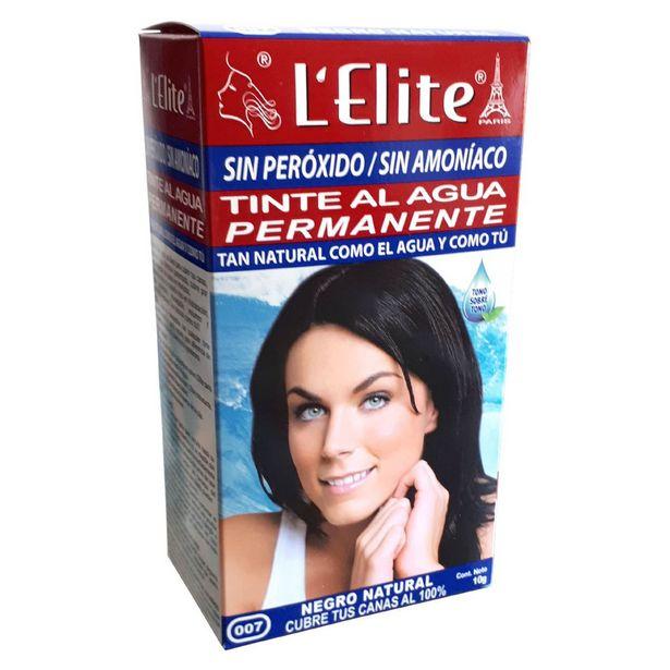 Oferta de Tinte Lelite Al Agua Permanente Negro Natural 007 por $64