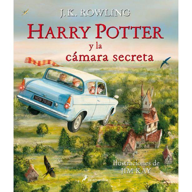 Oferta de Harry Potter 2. Harry Potter Y La Cámara Secreta (Edición Ilustrada)  Autor : J.K. Rowling, Jim Kay por $499