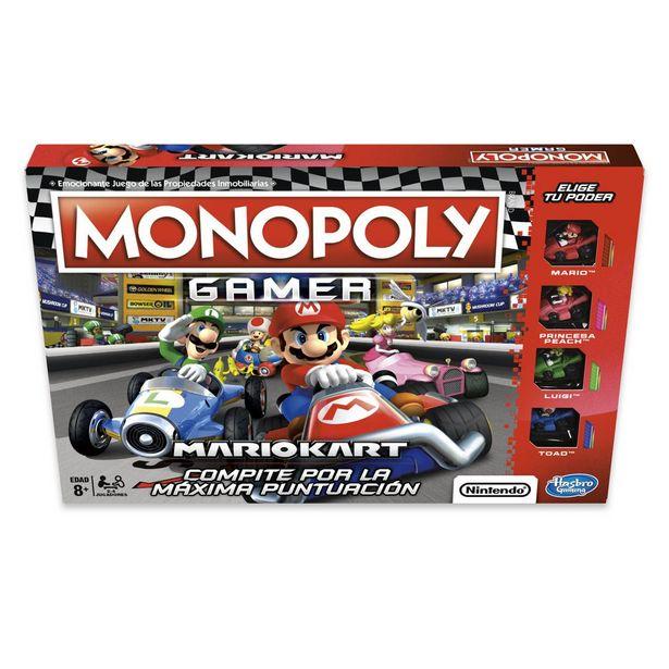 Oferta de Juego De Mesa Monopoly Mario Kart por $498