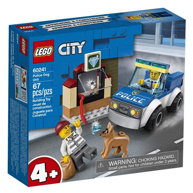Oferta de Policía Unidad Canina Lego City por $159