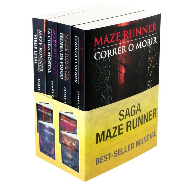Oferta de Saga Maze Runner  Autor : James Dashner por $701
