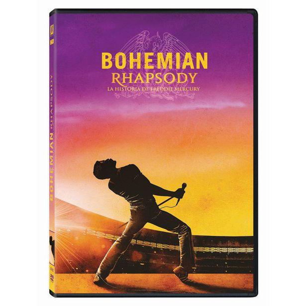 Oferta de Dvd Bohemian Rhapsody La Historia De Freddie Mercury por $114