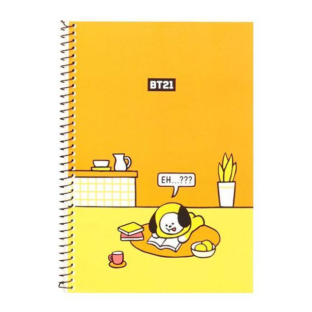 Oferta de Cuaderno Con Personaje Chimmy Línea Bt21 por $48