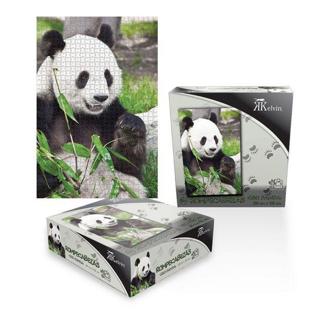 Oferta de Rompecabezas Kelvin Oso Panda por $171