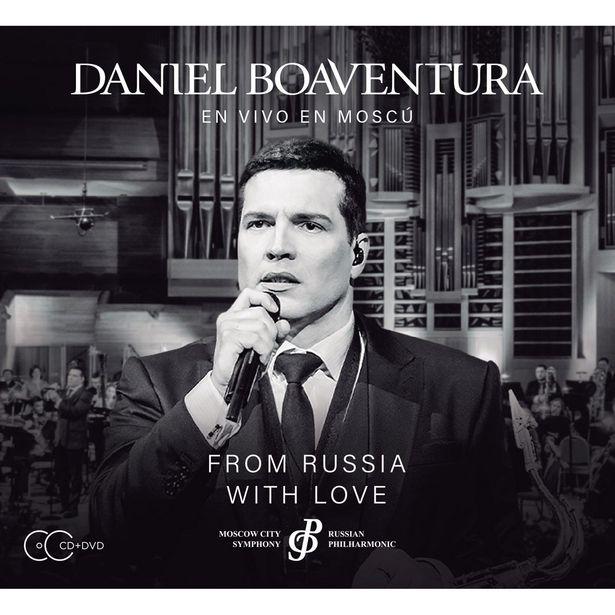 Oferta de Cd+ Dvd Daniel Boaventura- From Russia With Love por $156