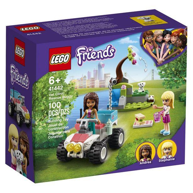 Oferta de Buggy De Rescate De La Clínica Veterinaria Lego Friends 41442 Construcción Infantil por $124
