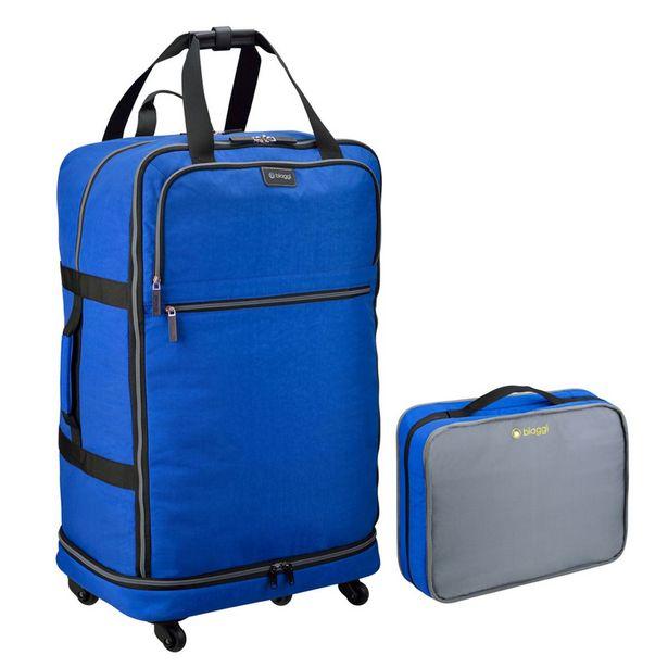 Oferta de Maleta Expandible 27 Azul Biaggi por $1446