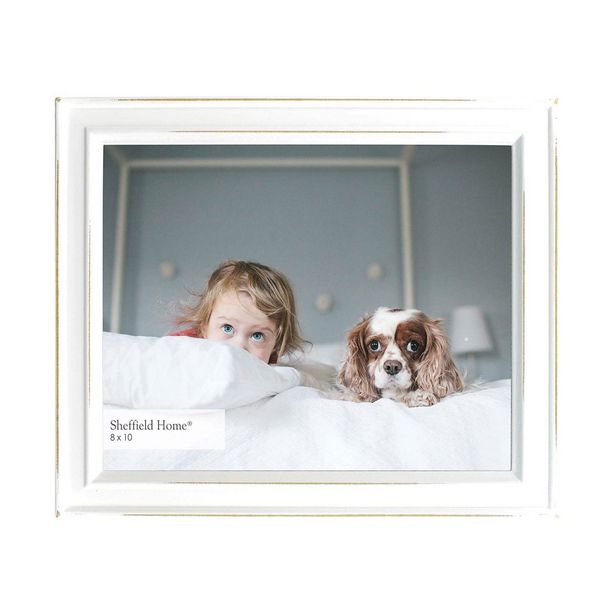 Oferta de Cuadro Para Foto Modelo 6B12-80 Color Blanco por $279