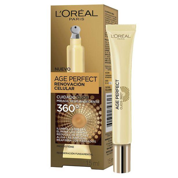 Oferta de Crema Hidratante Antiarrugas Ojos, Age Perfect L'oréal Paris por $316