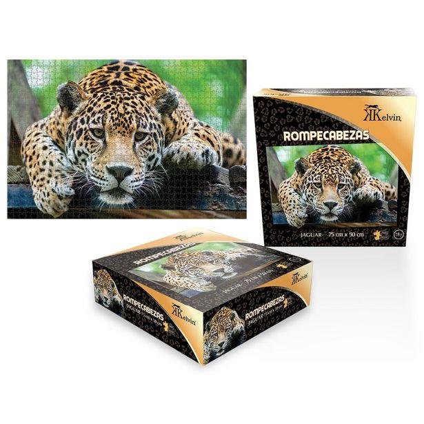 Oferta de Rompecabezas Kelvin Jaguar 1000 Piezas por $171