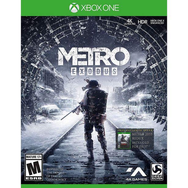 Oferta de Xbox One Metro Exodus por $674