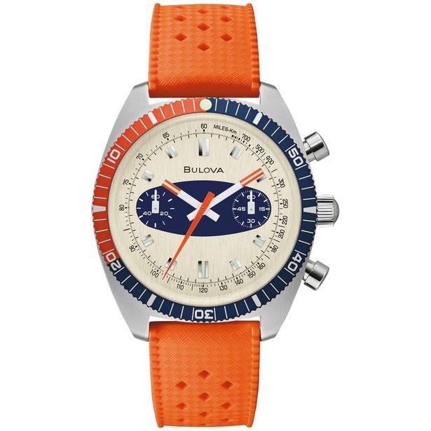 Oferta de Reloj De Pulso Bulova 98A254 Colección Surfboard Para Caballero por $7500