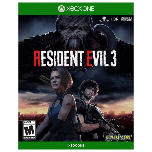 Oferta de Resident Evil 3 Xbox One por $632