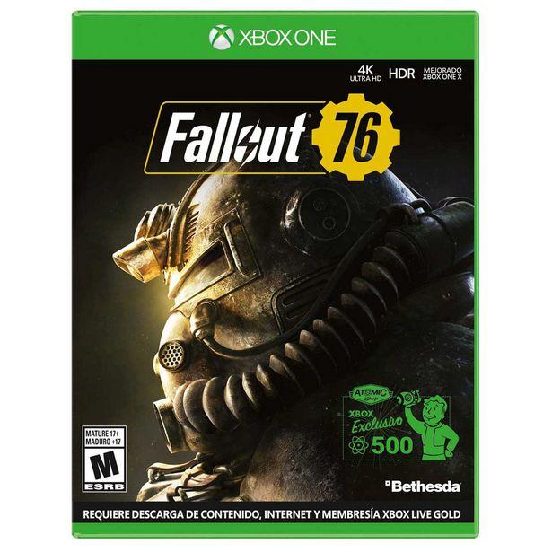 Oferta de Xbox One Fallout 76 por $699