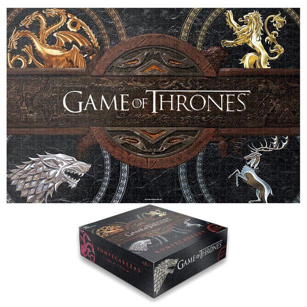 Oferta de Rompecabezas Games Of Thrones Logos Kelvin por $174