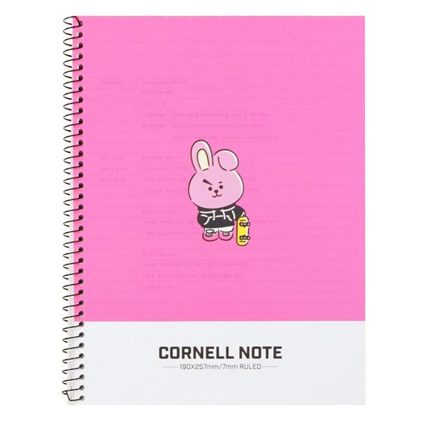Oferta de Cuaderno Cornell Personaje Cooky Línea Bt21 por $55