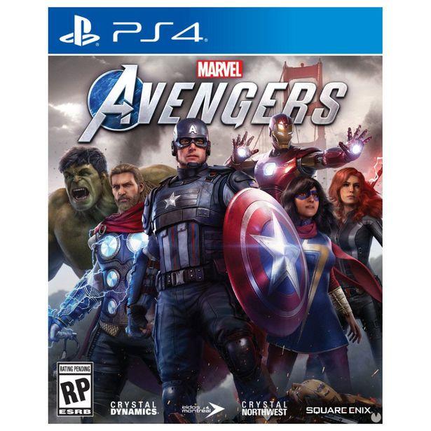 Oferta de Ps4 Marvel Avengers por $799