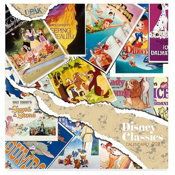 Oferta de Calendario Classics Disney 2021 por $80