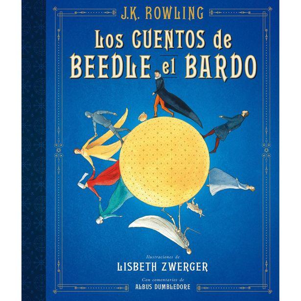 Oferta de Los Cuentos De Beedle El Bardo (Edición Ilustrada)  Autor : J.K Rowling por $416