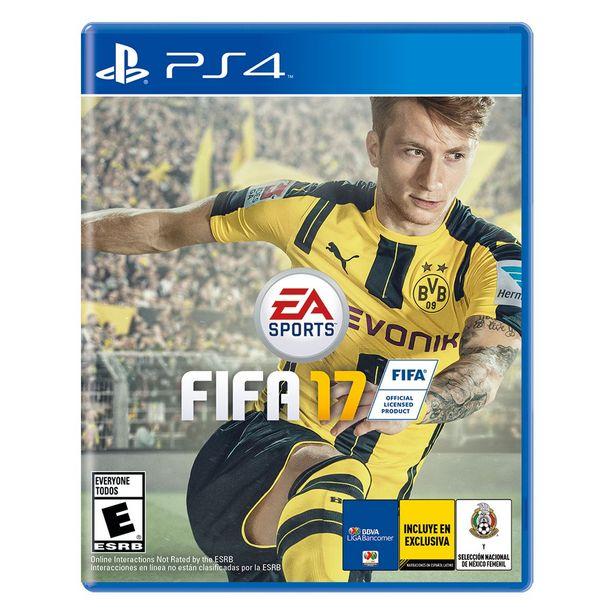 Oferta de Ps4 Fifa 17 por $224