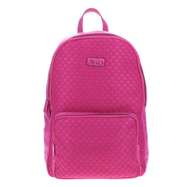 Oferta de Backpack Rosa Barbie X Gorett Backpack Grande Rosa Gs21052-P por $1049